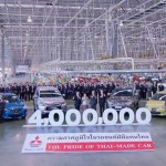 Завод компании Mitsubishi в Таиланде выпустил 4-миллионный автомобиль