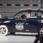 Краш-тесты Mitsubishi Outlander (Мицубиси Аутлендер)