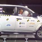Краш-тест Mitsubishi Pajero (Мицубиси Паджеро)