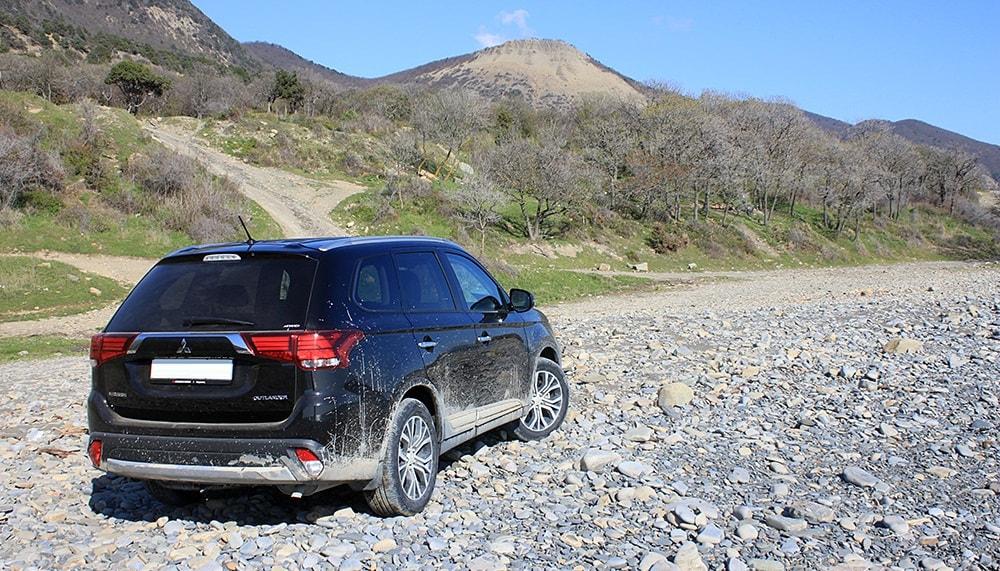 test drive Mitsubishi Outlander 2016, тест-драйв Мицубиси Аутлендер 2016