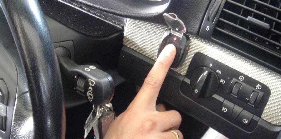 immobilaizer otpechatok palca, иммобилайзер отпечаток пальца