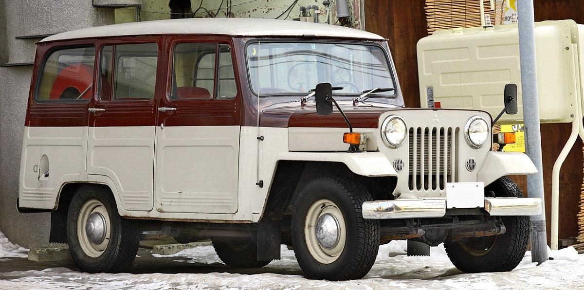 mitsubishi jeep, мицубиси джип