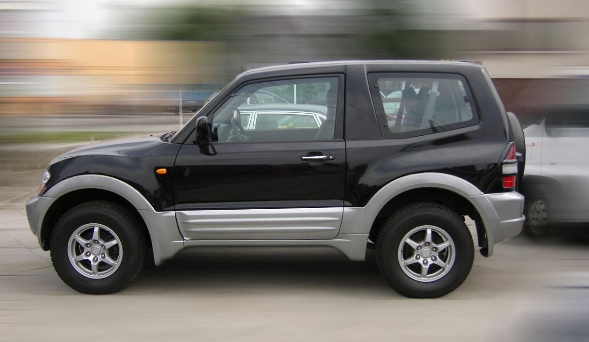 Mitsubishi Pajero 3 двери, Мицубиси Паджеро 3 двери