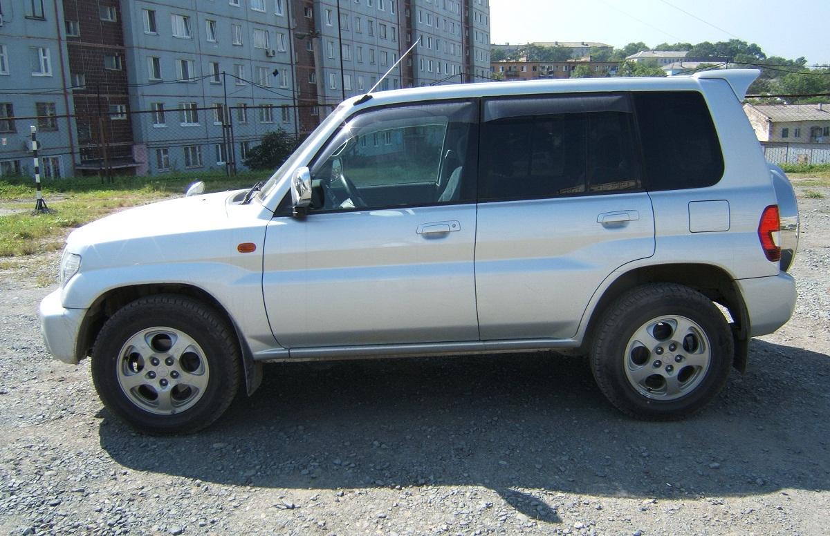 Mitsubishi Pajero iO, Мицубиси Паджеро ИО, Митсубиси Паджеро ИО