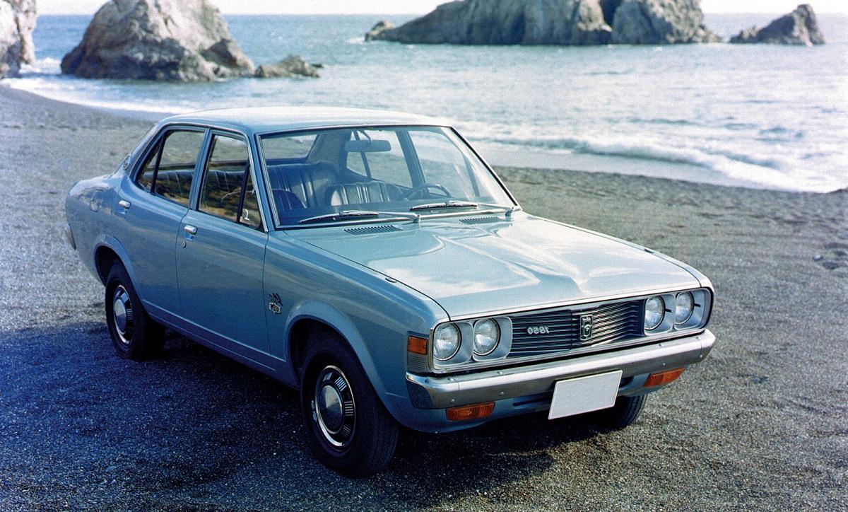 Mitsubishi Galant 2, Мицубиси Галант 1973