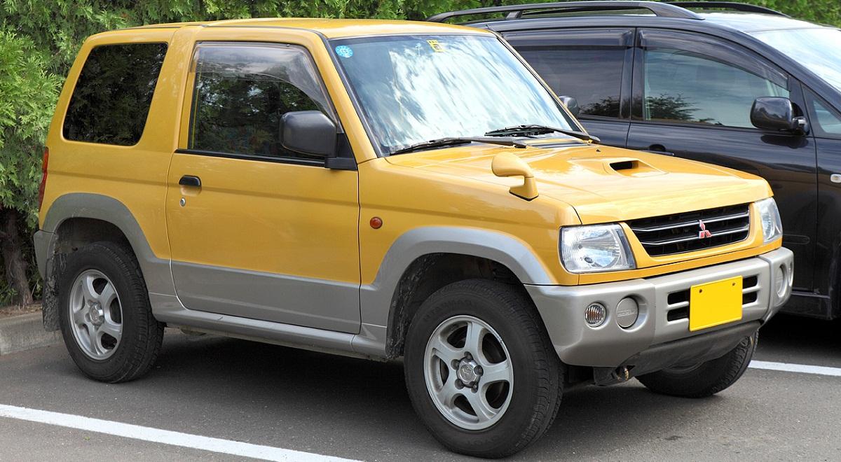 Mitsubishi Pajero Mini, Мицубиси Паджеро, Мини, Митсубии Паджеро Мини