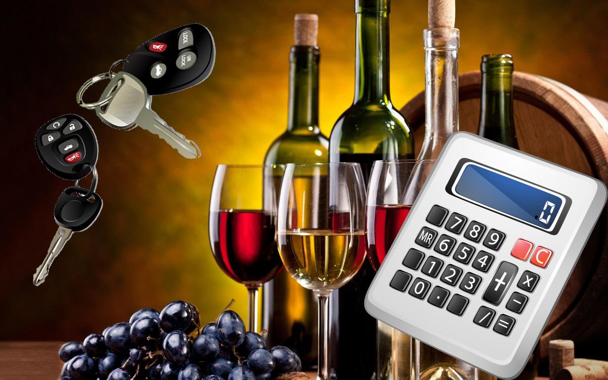 Калькулятор промилле алкоголя в крови