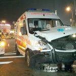 ДТП с участием скорой помощи