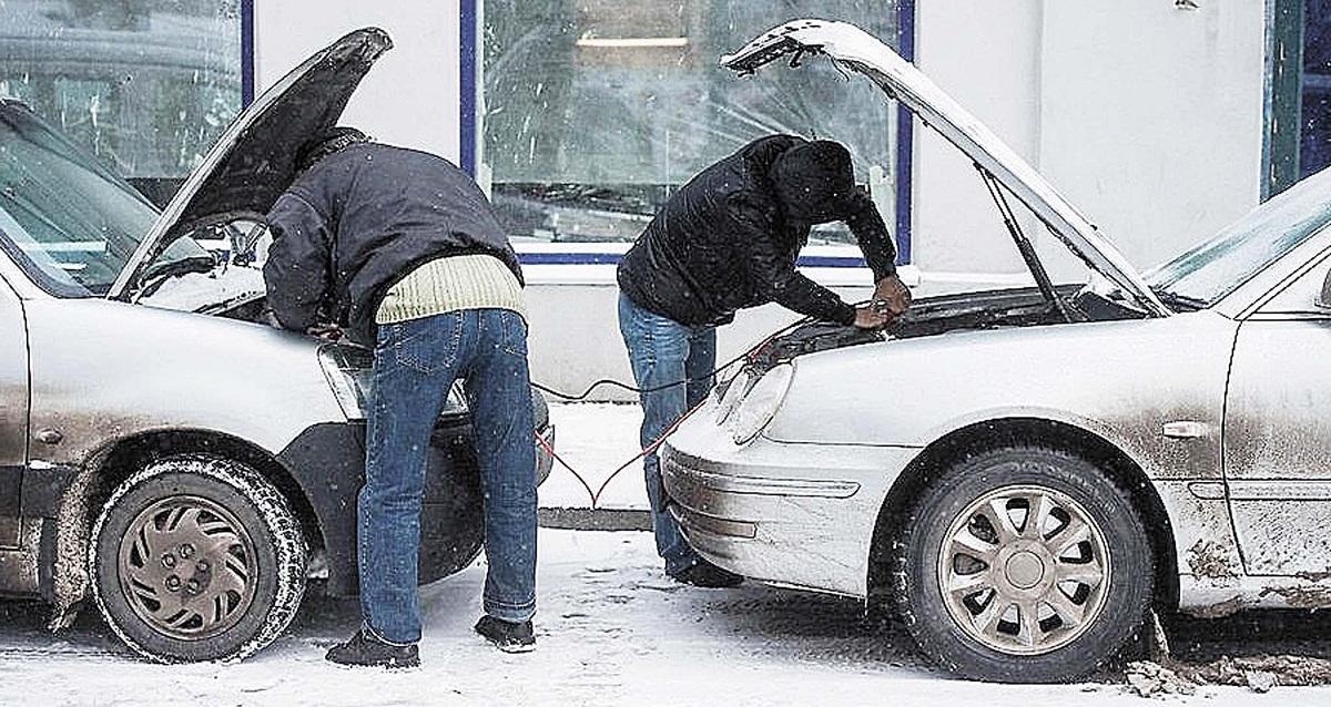 Как завести авто в мороз