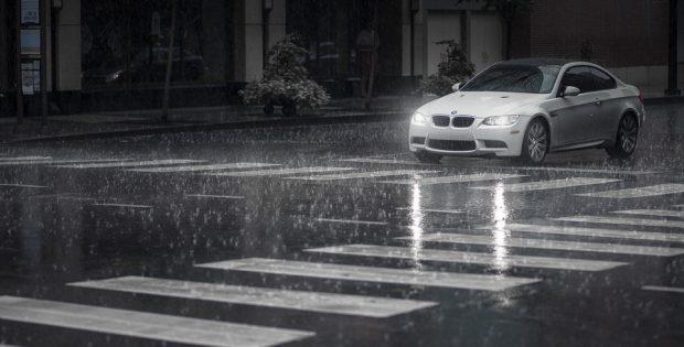 Как ездить в дождь