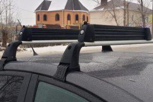 Багажник на крышу для лыж