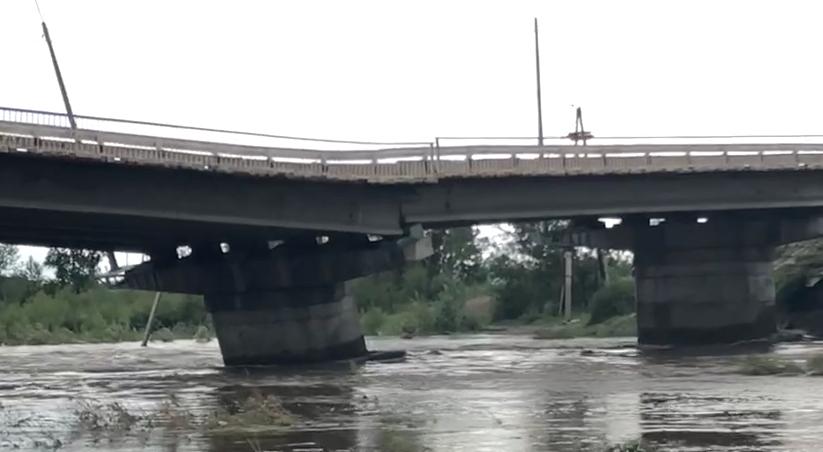 Каштакский мост в Чите
