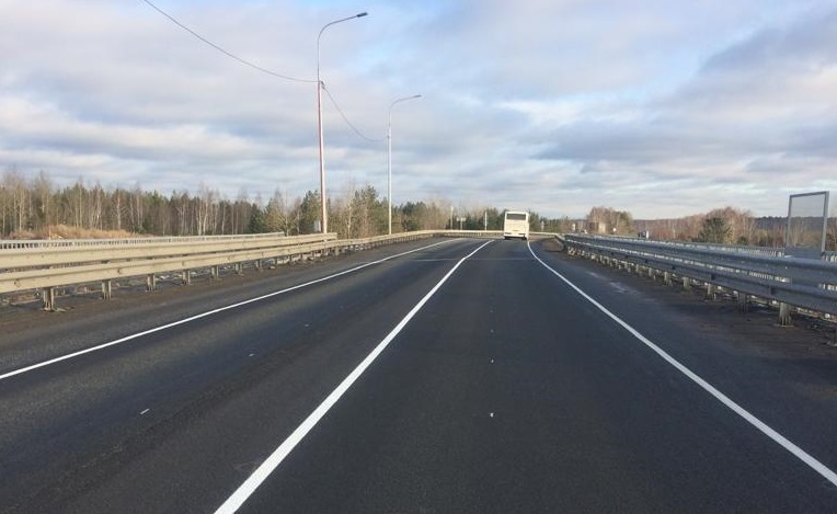 трассы Р-402 в Тюменской области
